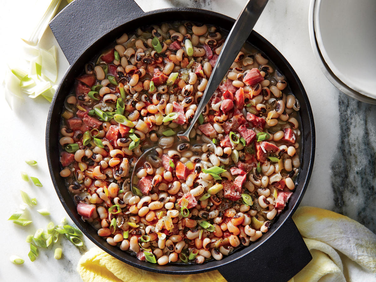 Smoky Black Eyed Peas Recipe Cooking Light