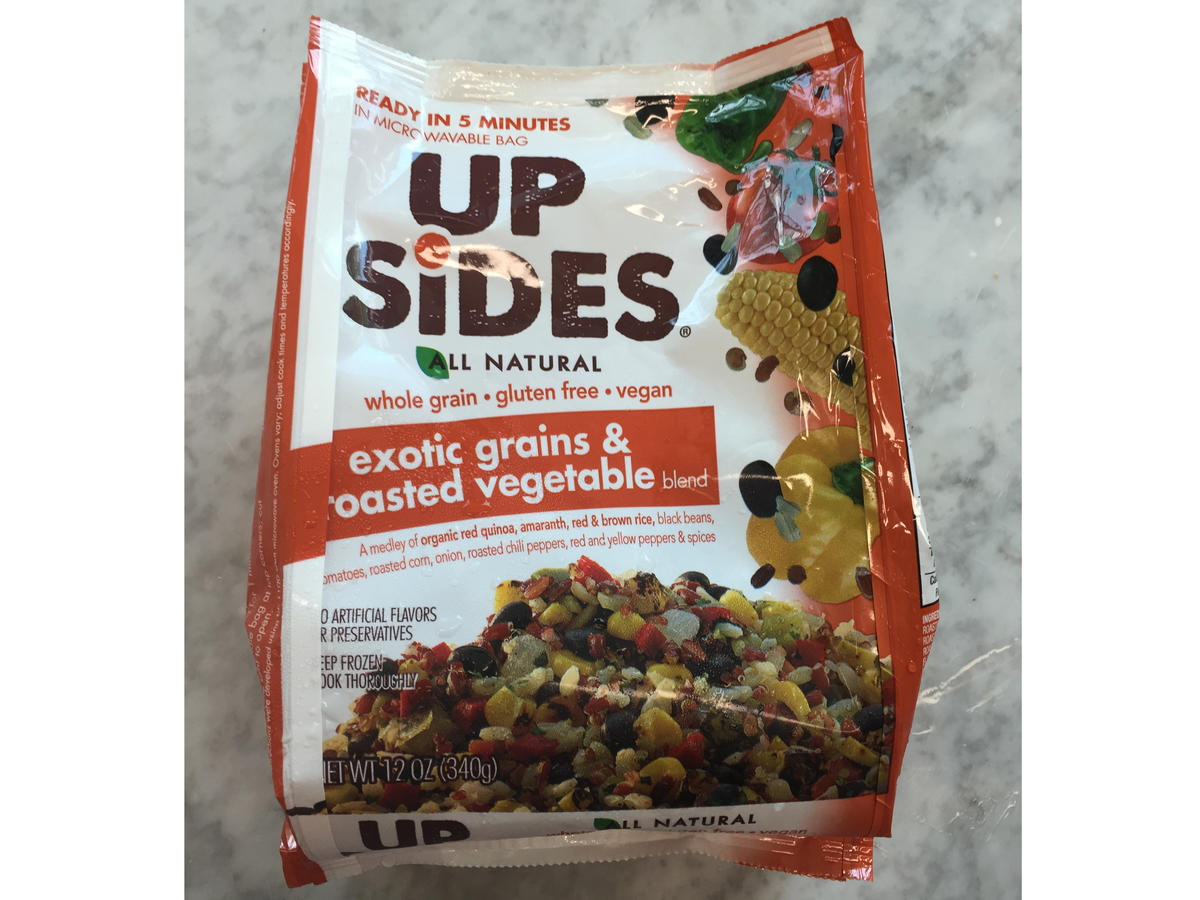 Up Sides Exotic Grains and Roasted Vegetables Frozen Food