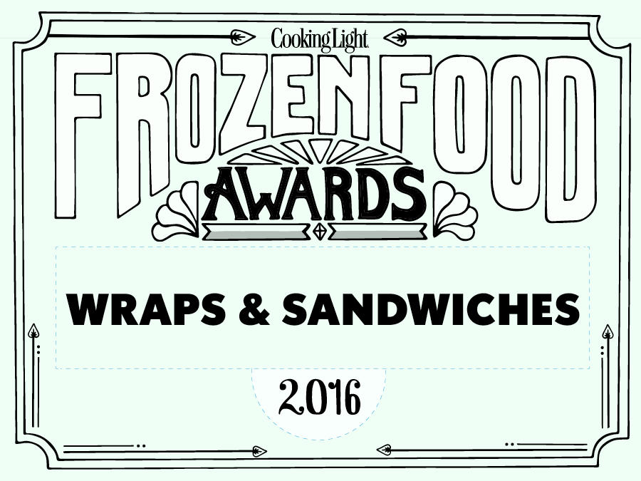 Wraps and Sandwiches Frozen Food Awards