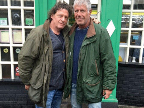 Anthony Bourdain and Marco Pierre White