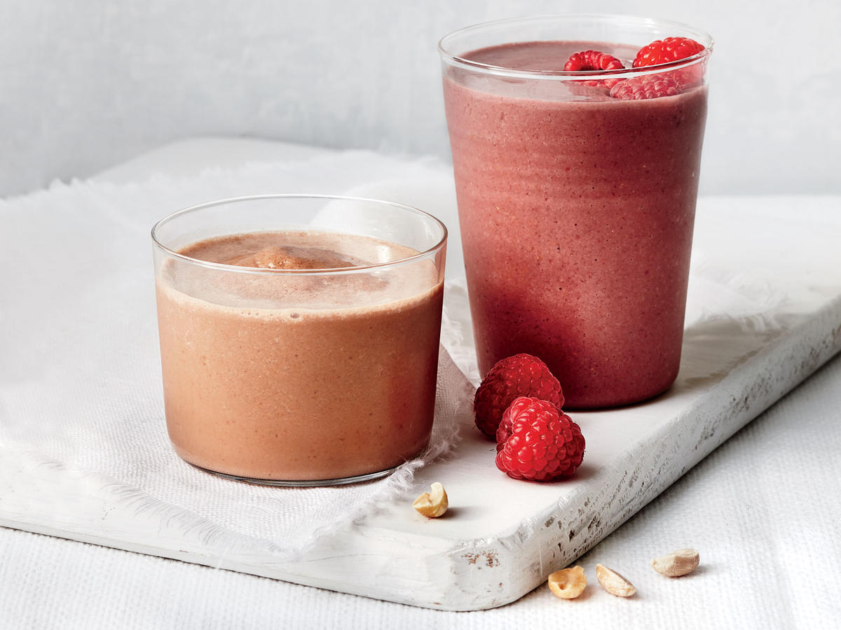Chocolate-Raspberry Smoothie