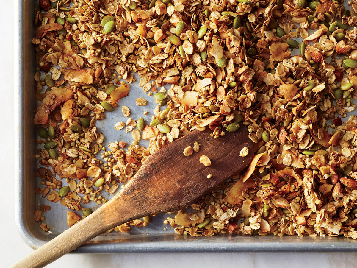 Coconut-Buckwheat Granola