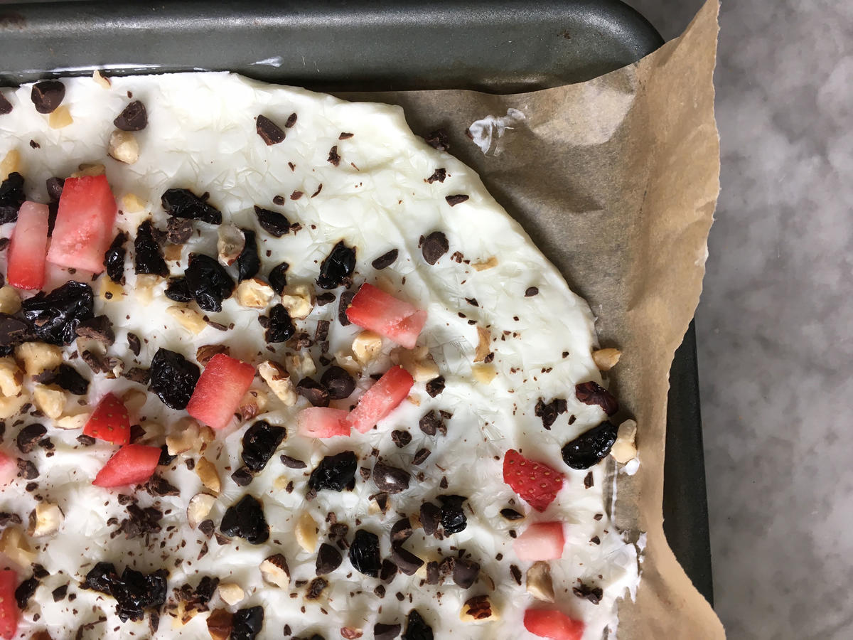 Greek Yogurt Bark