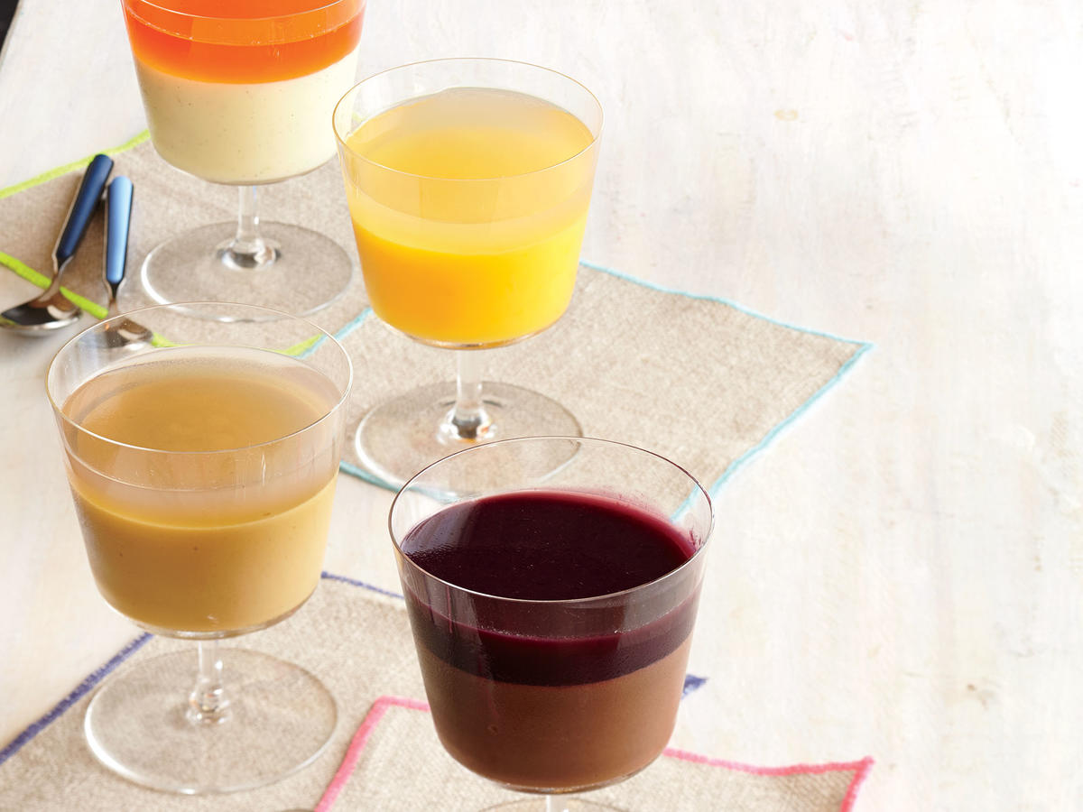 Grown Up Jellied Desserts