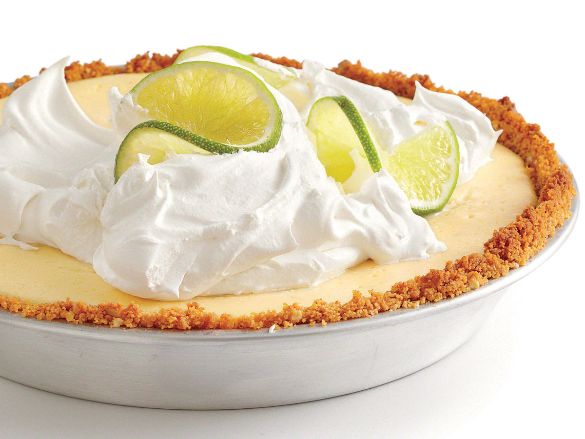 There's an addictive quality to Key lime pie's finely tuned balance of the sweet and the tart, the creamy and the crunchy, all crowned with fluffy cream. It seems so airy, but it's 500 calories of airy. Time for a makeover, indeed.