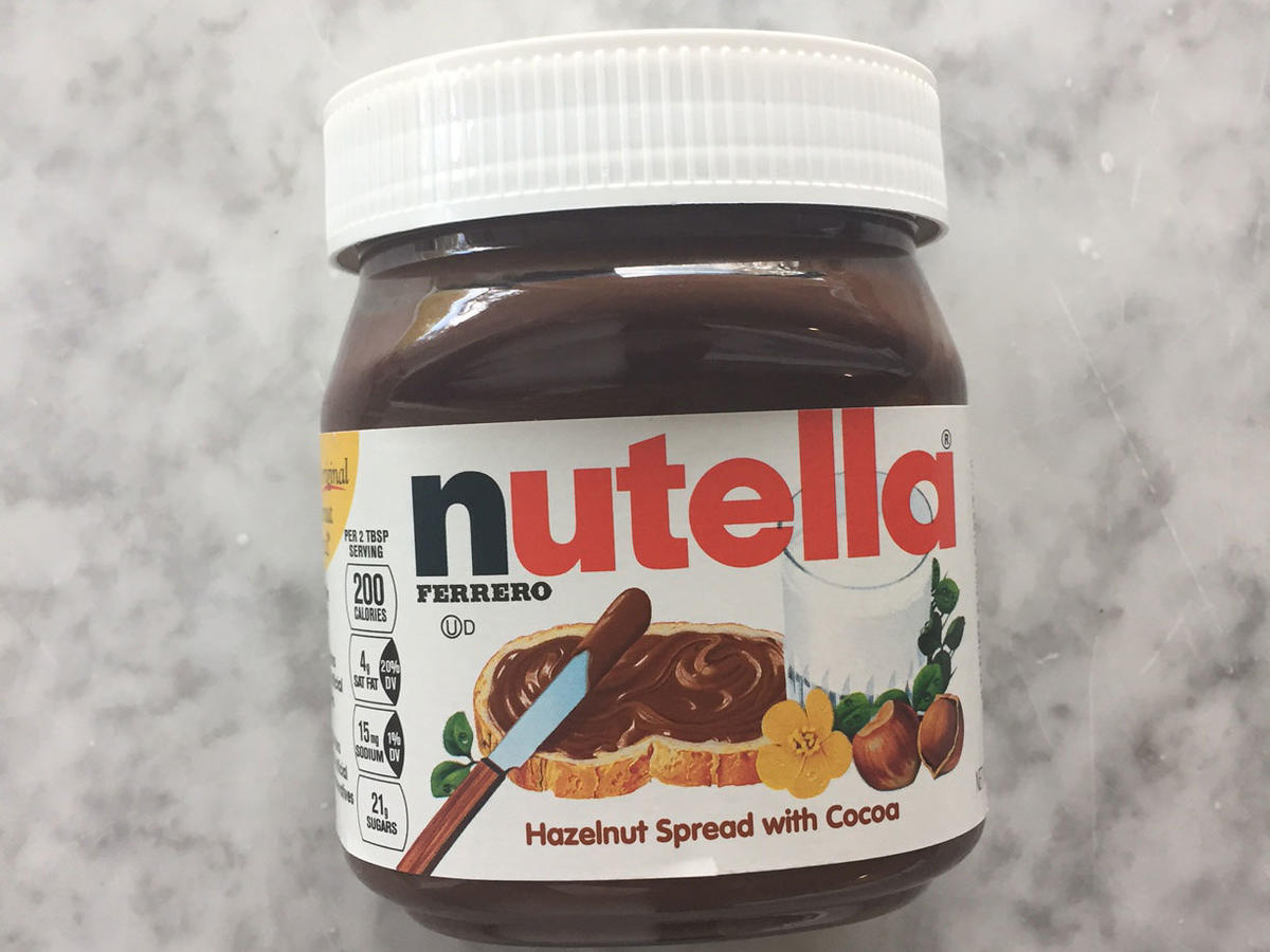 Nutella Jar image