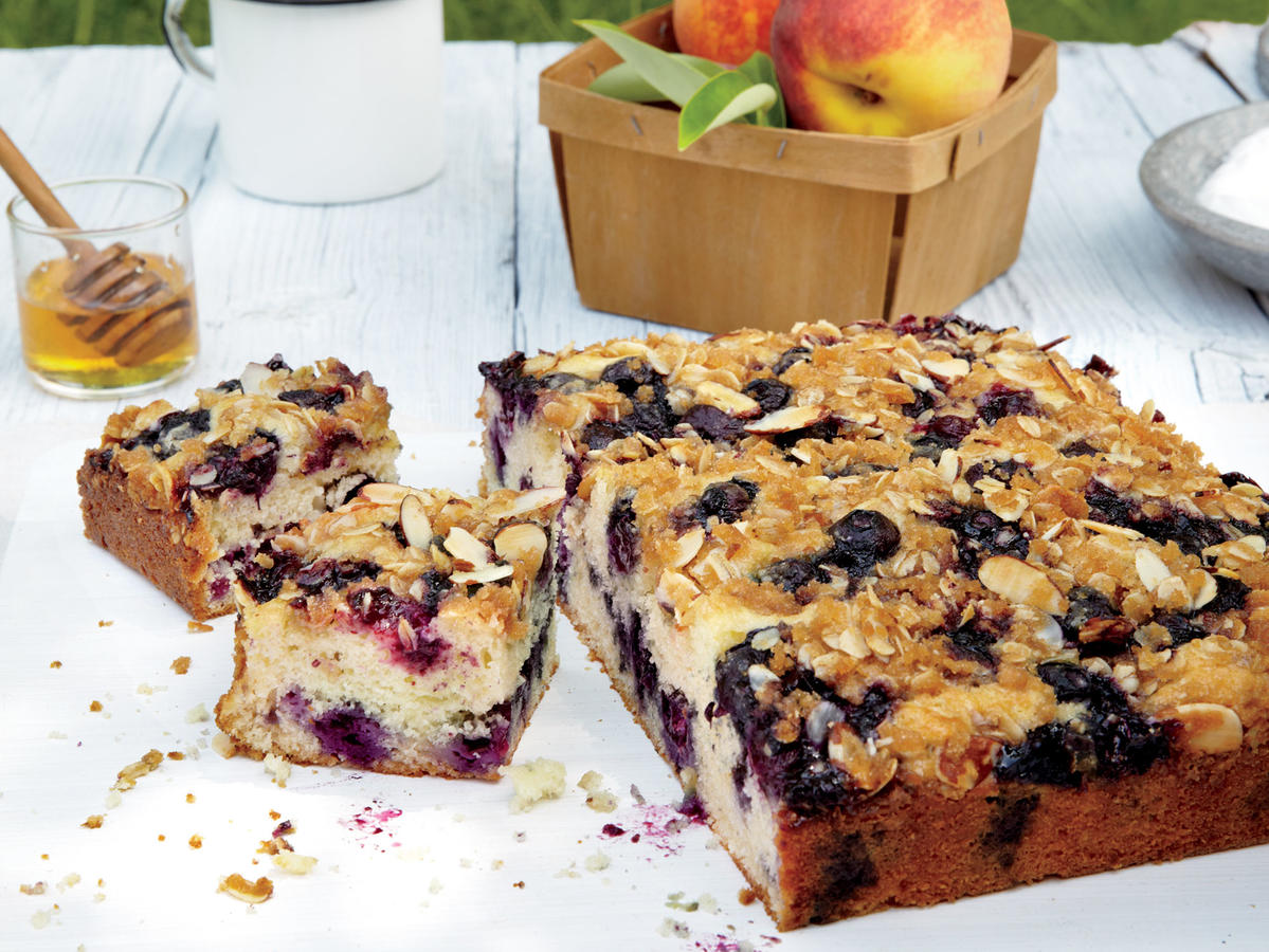 Blueberry Almond Coffee Cake Cooking Light