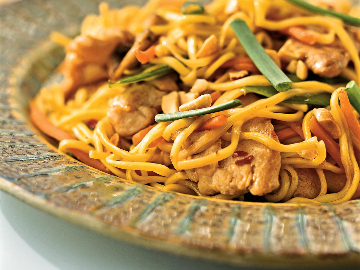 This quick and easy chow mein recipe is just as tasty as take-out, but better for you. Look for chow mein noodles (sometimes labeled as chuka soba) in the Asian section of the supermarket. If you can't find them, you can always substitute spaghetti or linguine.