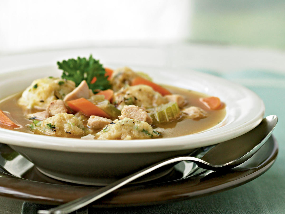 Recipe for Two: Herbed Chicken and Dumplings