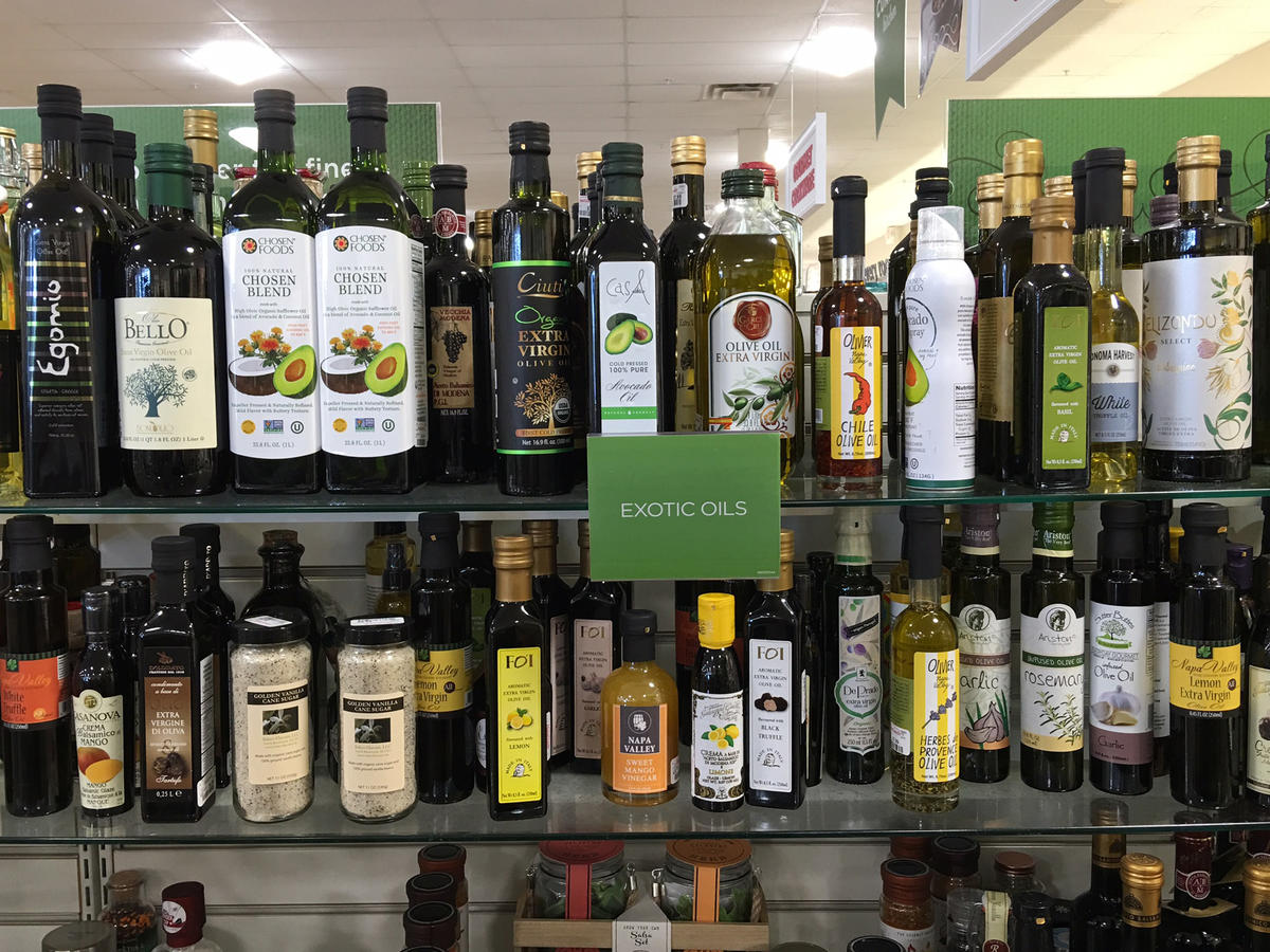 HomeGoods Healthy Food Products Oils. Two Stores Where You Might Never Think to Shop for Healthy Food