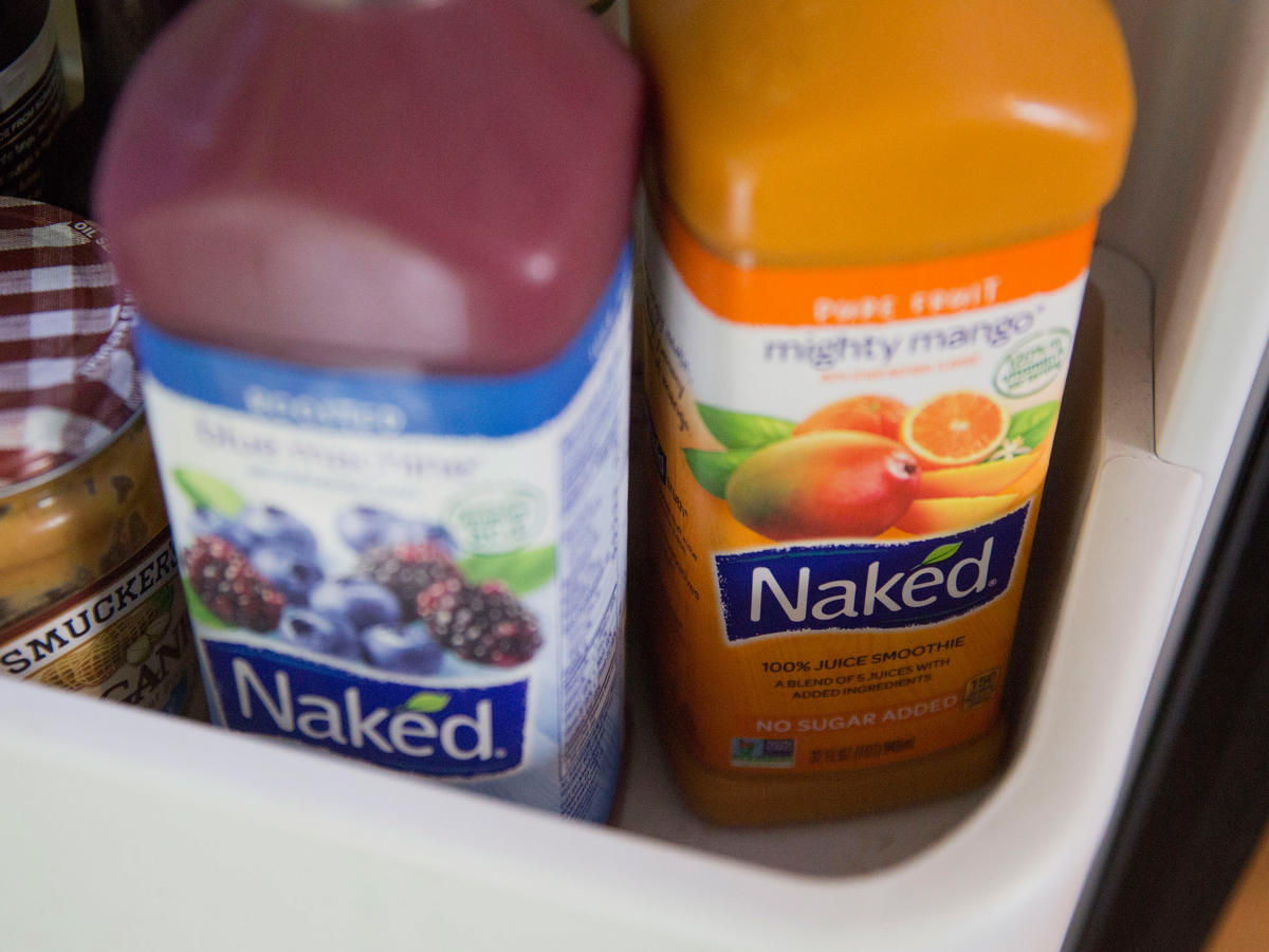 Naked Juice Bottles