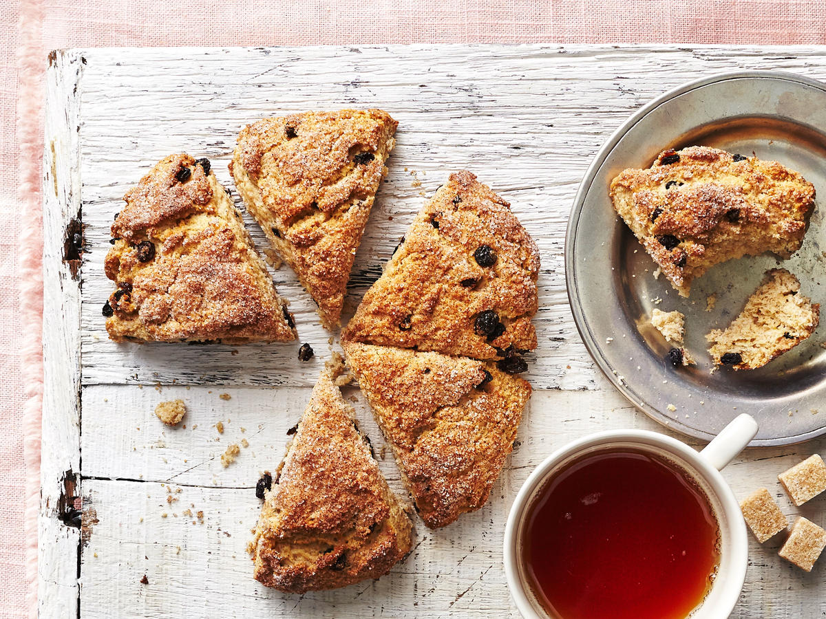 Whole-Wheat Flour Sour Cream Scones