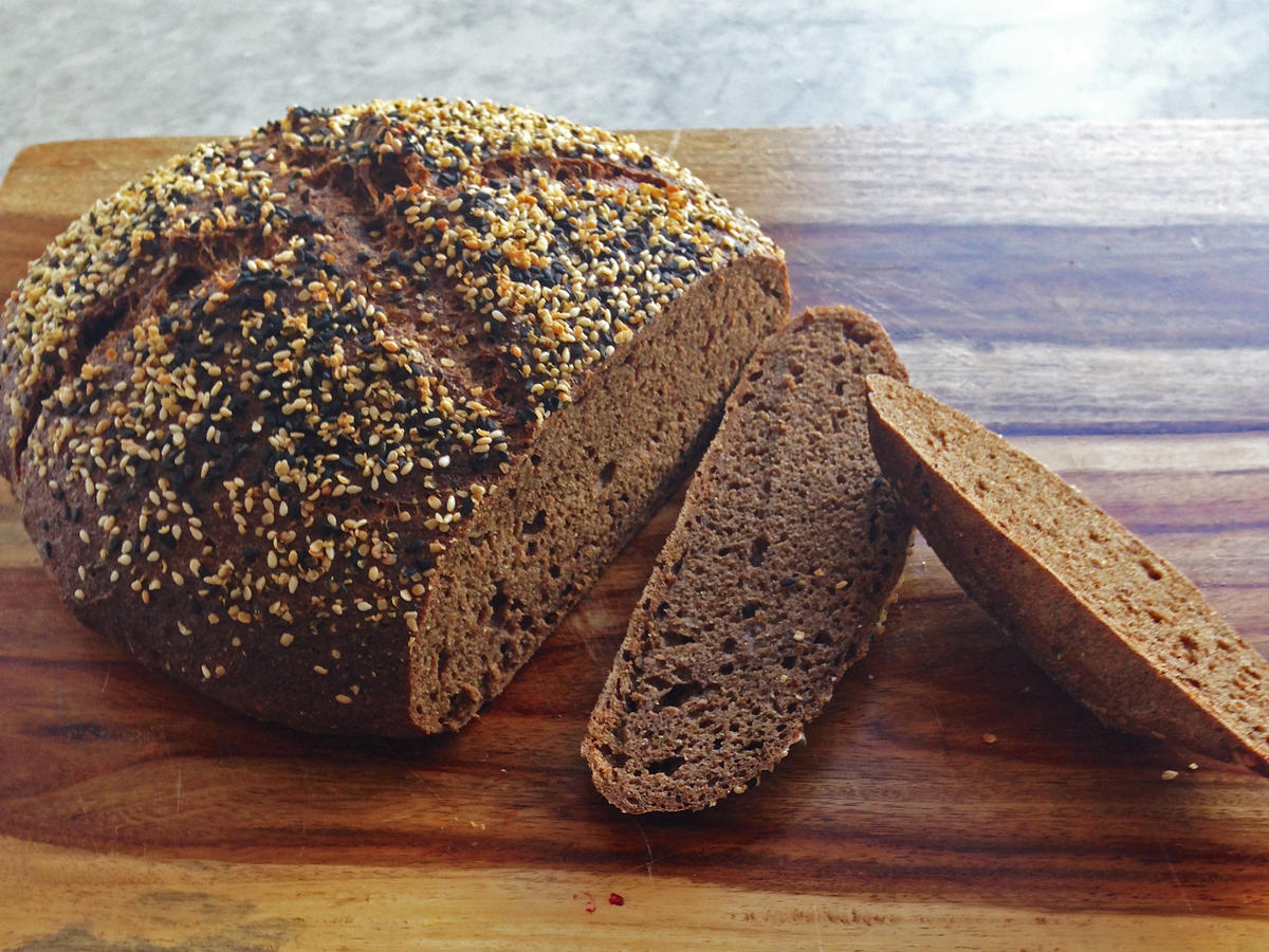 Whole Grain Cricket Bread