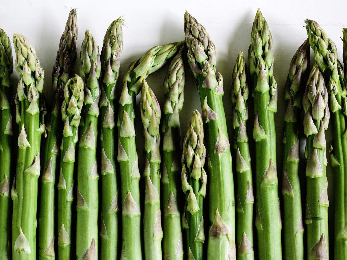 When the first bundles of pencil-thin asparagus start showing up at the market, you know it's officially spring. Asparagus can be prepared in innumerable ways, but early-harvest stalks are so delicious raw that they may not even make it to cooking.