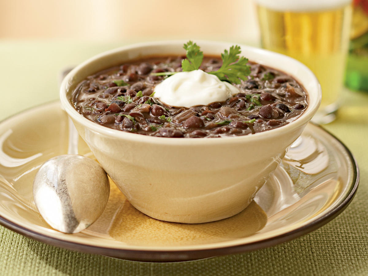 Gluten-Free Black Bean Soup