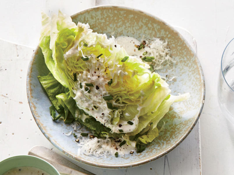 Black Pepper-Parmesan Wedge Salad