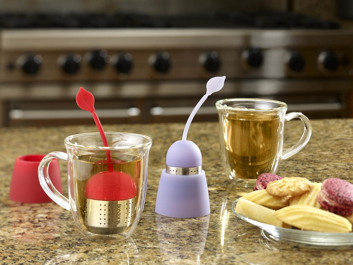 """BonJour Silicone """"Teas in a Pod"""" Tea Infuser"""