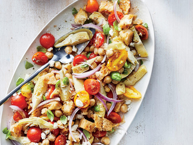 Friday: Chickpea Panzanella