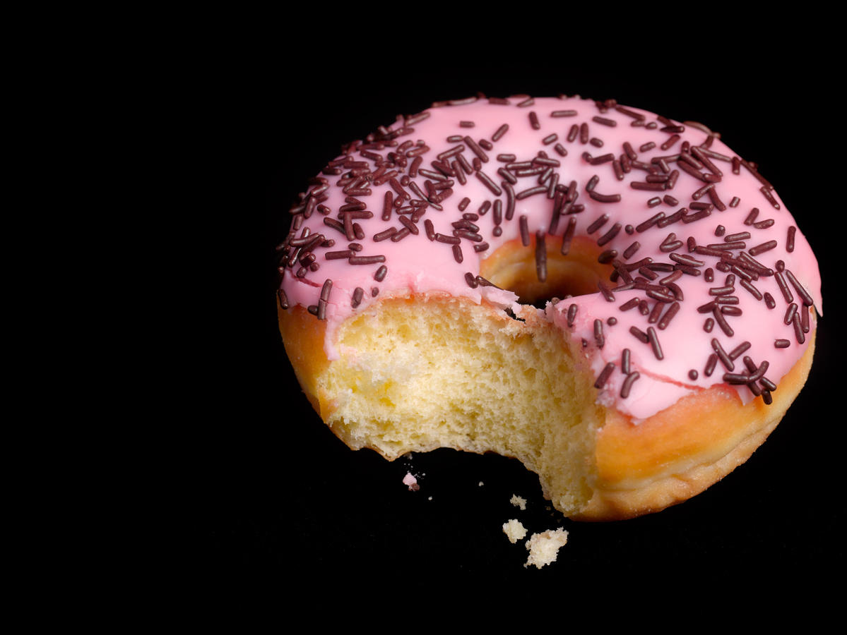 Donuts with Sprinkles Saturated Fat Cardiac Diet