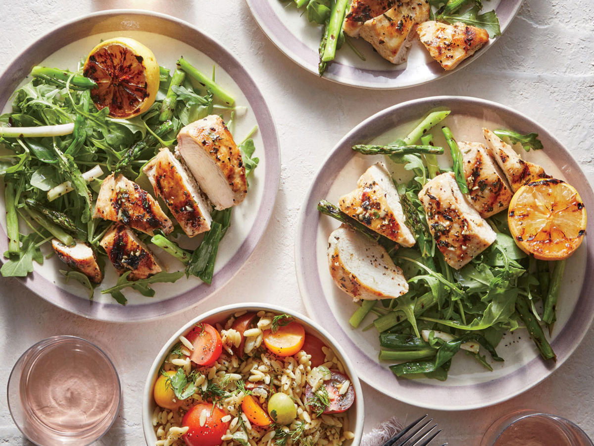 15 tasty, uncomplicated high-protein lunches - cooking light