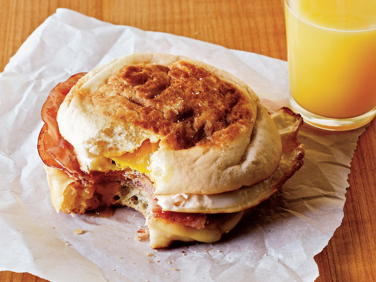 This delicious handheld breakfast will get you going in the morning and out the door without delay. Warm and cheesy, it will truly start the day off right.