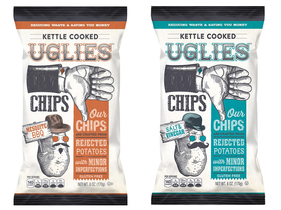 These Potato Chips Are Made Entirely from Rejected Spuds