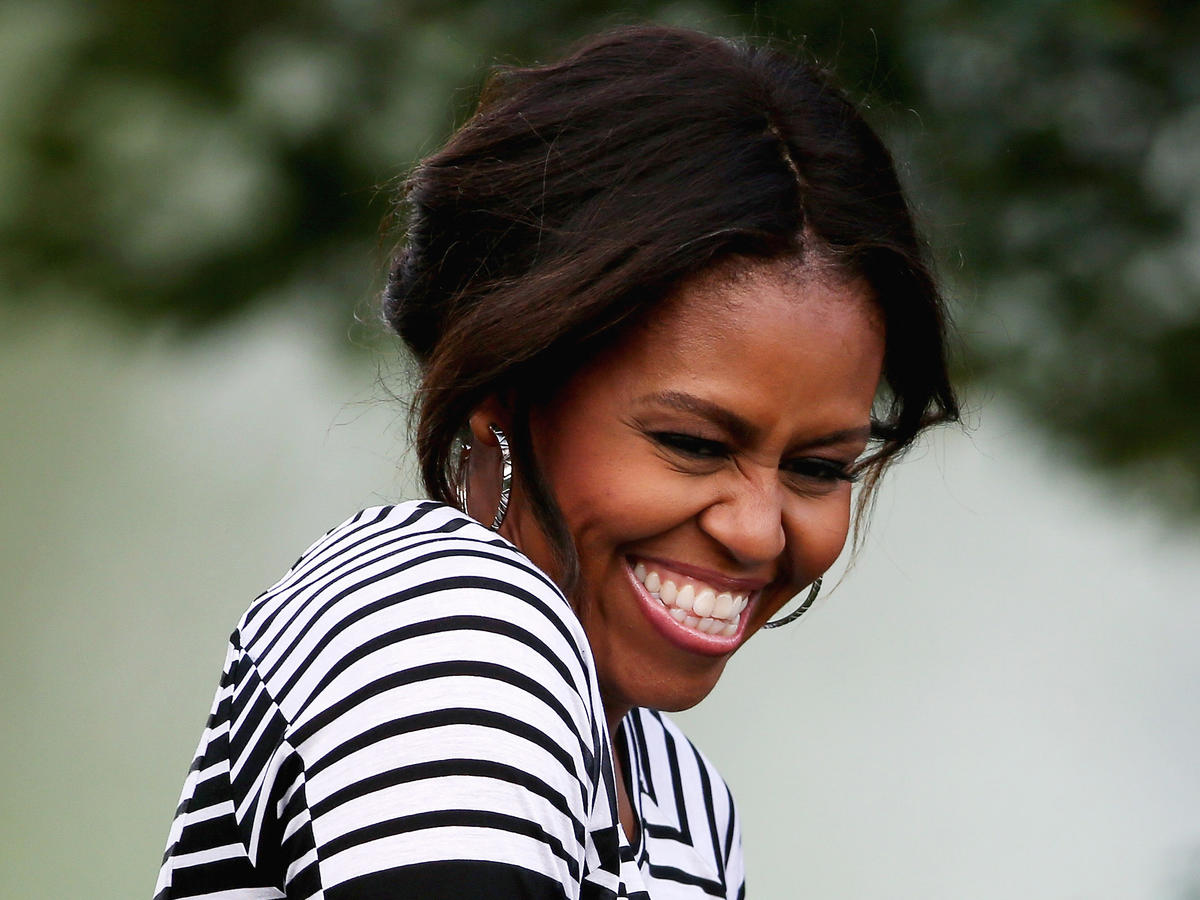 Michelle Obama Cooking Light 30 Faces of the New Healthy