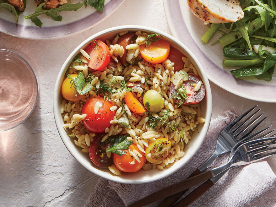 Orzo and Herb Pilaf