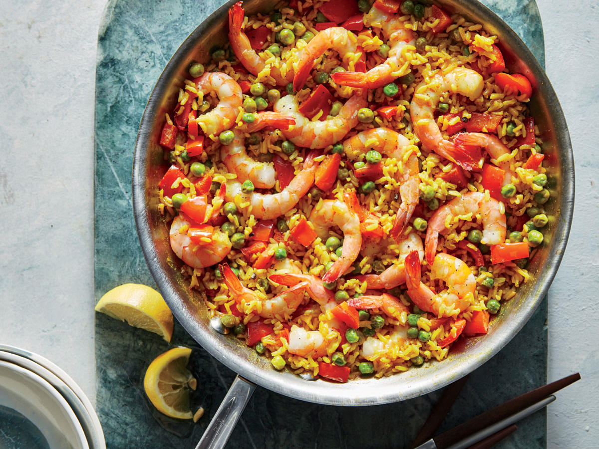 Shrimp Paella