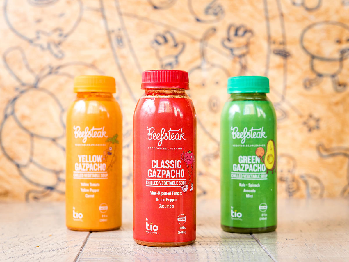 Drink Your Veggies: New Line of Gazpacho Arrives at Beefsteak