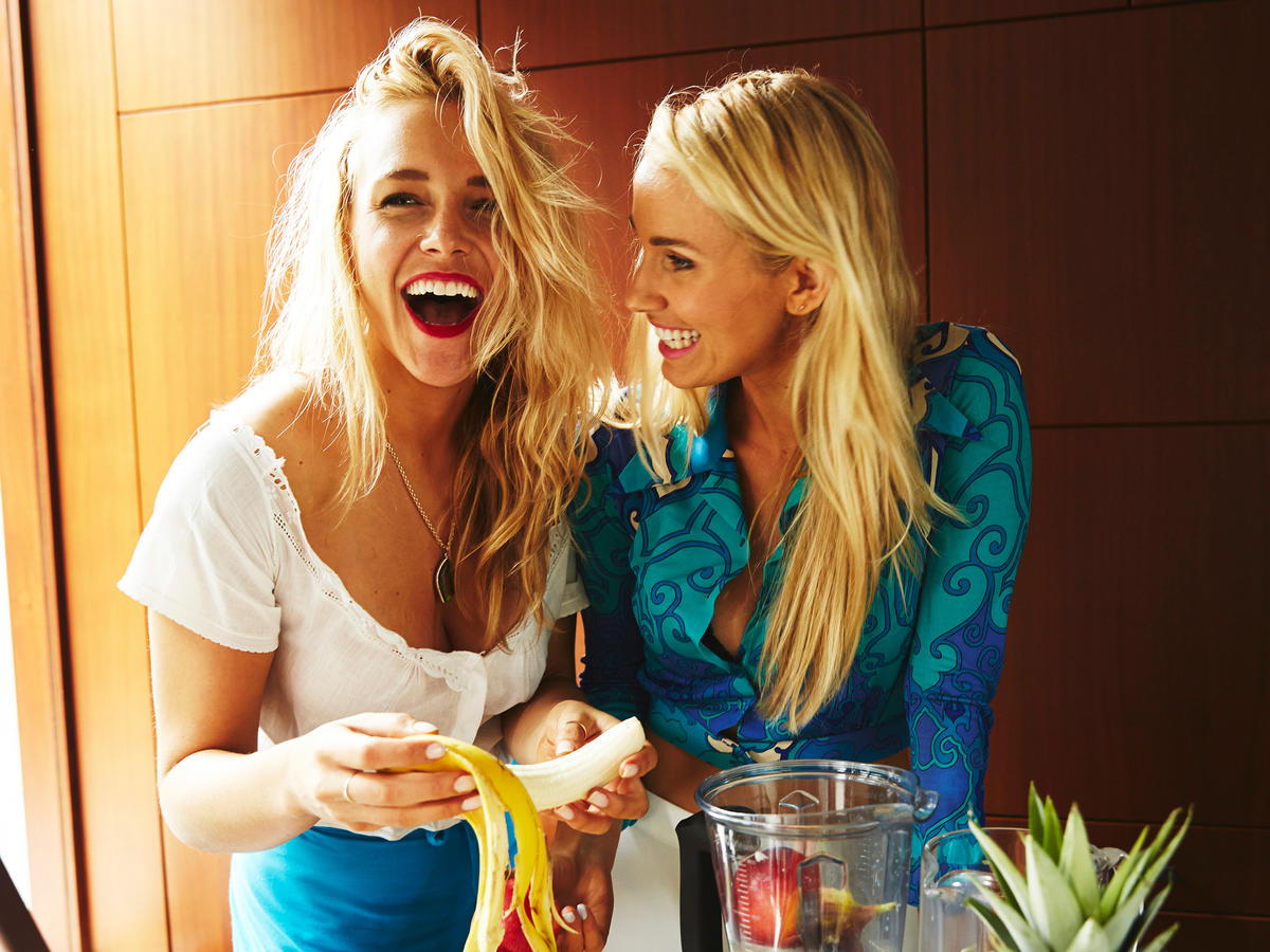 Whitney Tingle and Danielle DuBoise Cooking Light 30 Faces of the New Healthy