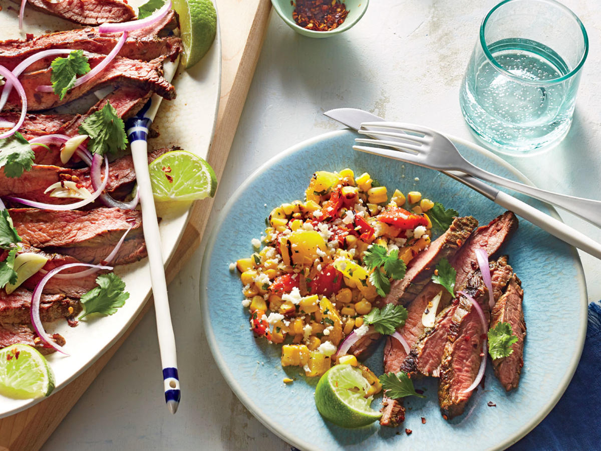 Tasty Thursday: Grilled Chile-Lime Flank Steak