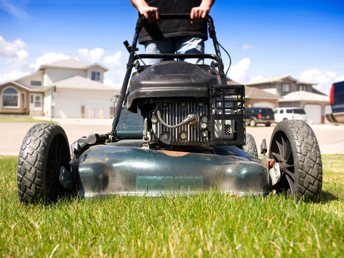 To make a painful task a little more fulfilling, it helps to know that mowing the lawn for 20 minutes can burn more calories than power walking. The catch is that you have to use a push mower, no riding around the neighborhood.
