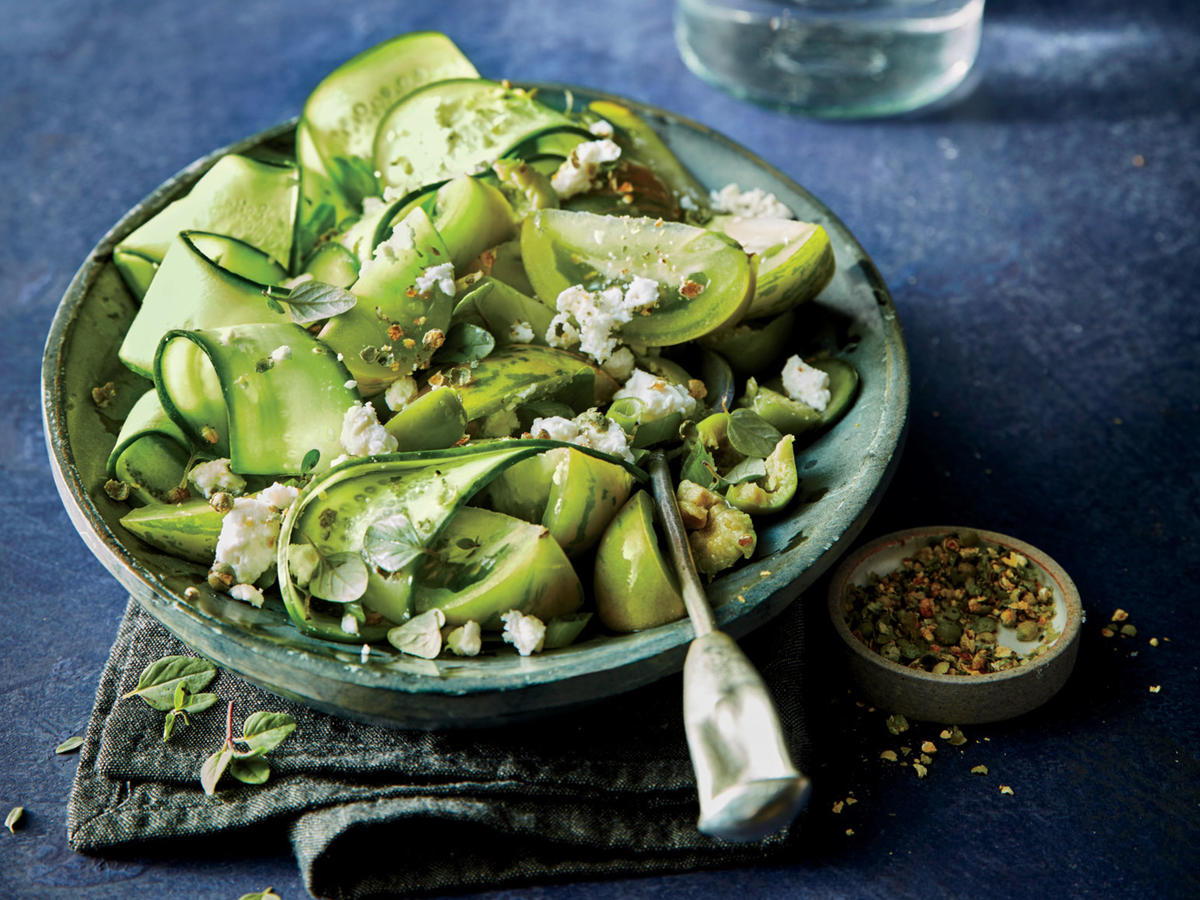Besides looking crisp and cool, cukes offer up lots of vitamin C.