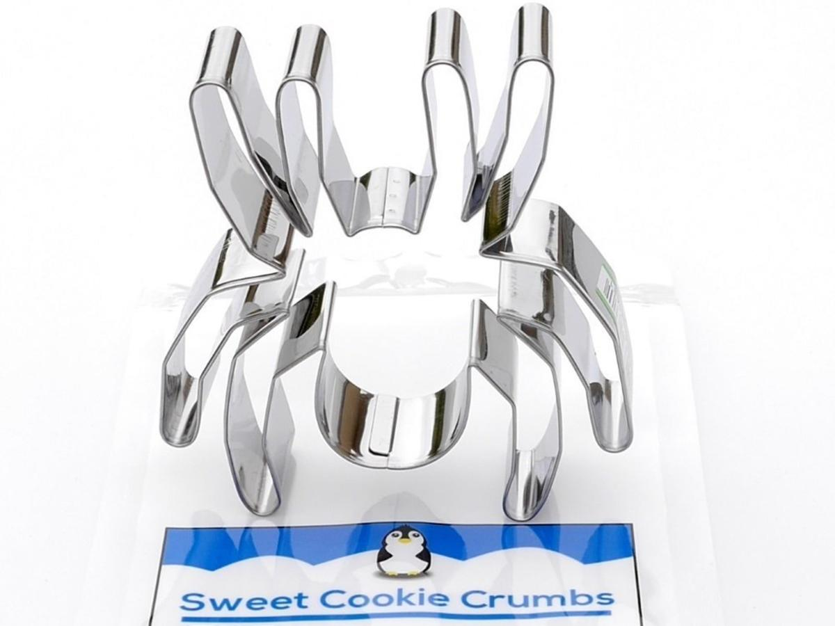 Spider Cookie Cutter- Stainless Steel