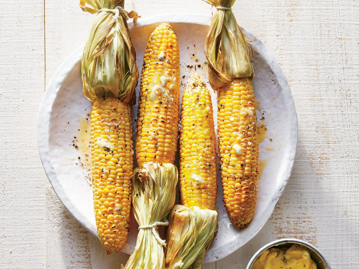 Applewood-Smoked Corn on the Cob