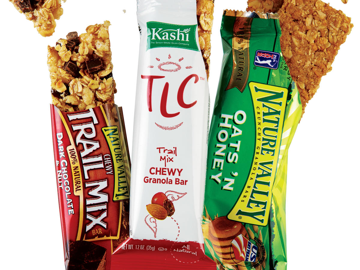 Granola, Granola Bars, and Cereal Bars