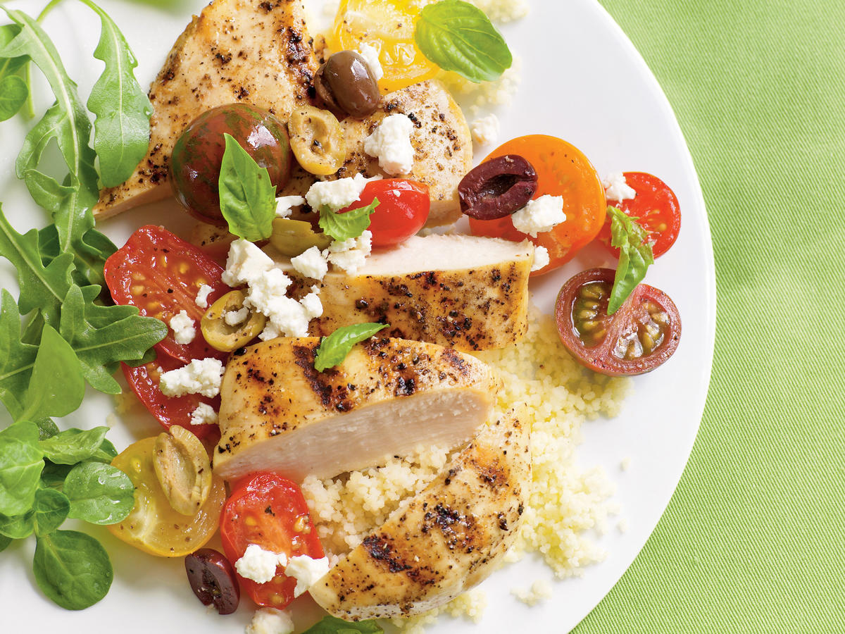 Chicken Breasts with Tomatoes and Olives Recipes