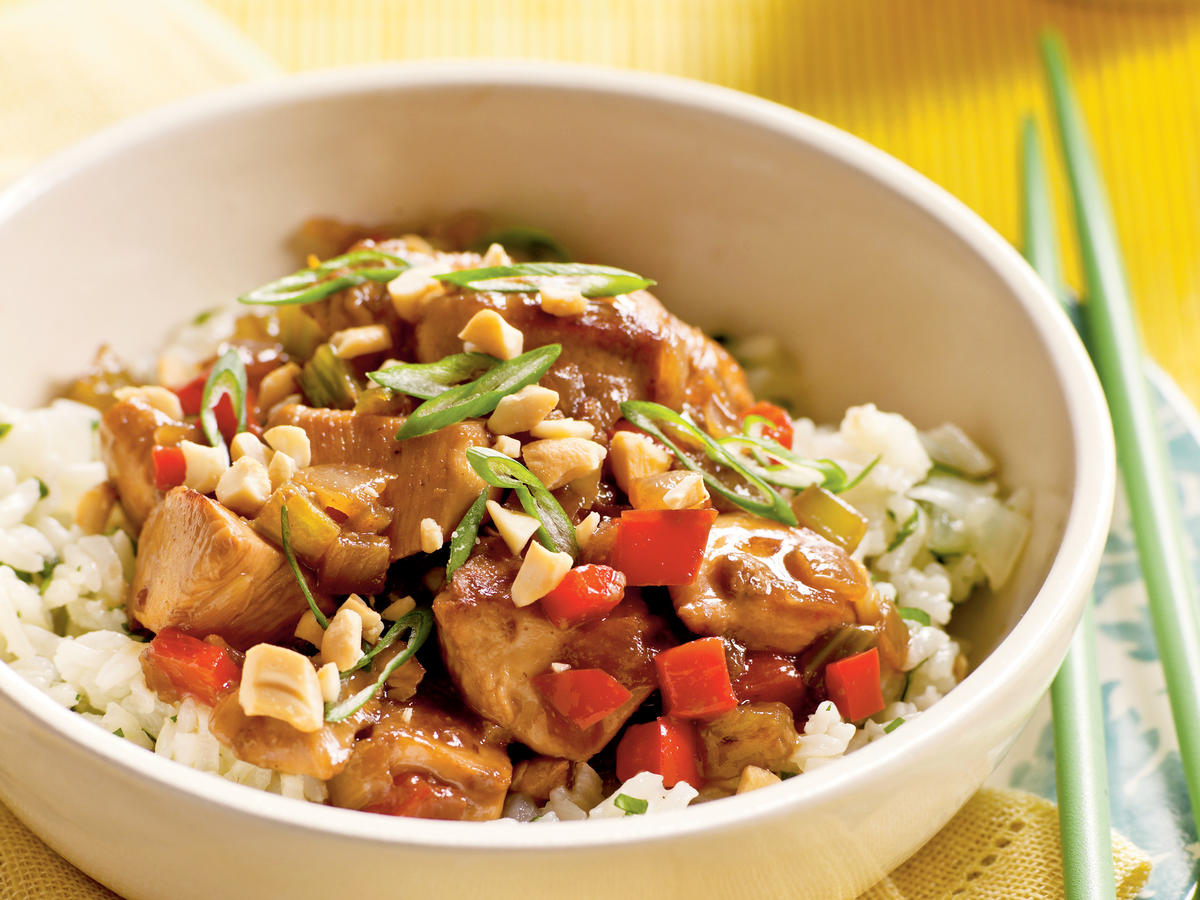 Chicken and Cashews Recipes
