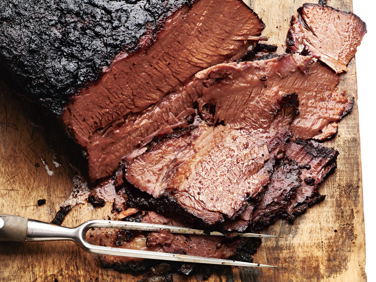 Grilling alone gives meat a smoky flavor, and adding coffee to the concoction only makes this tender, melt-in-your-mouth brisket that much better.