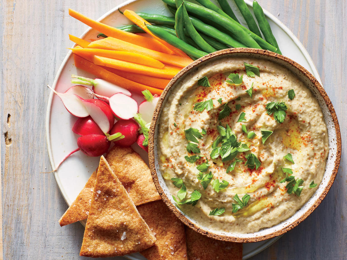 Grill-Smoked Baba Ghanoush