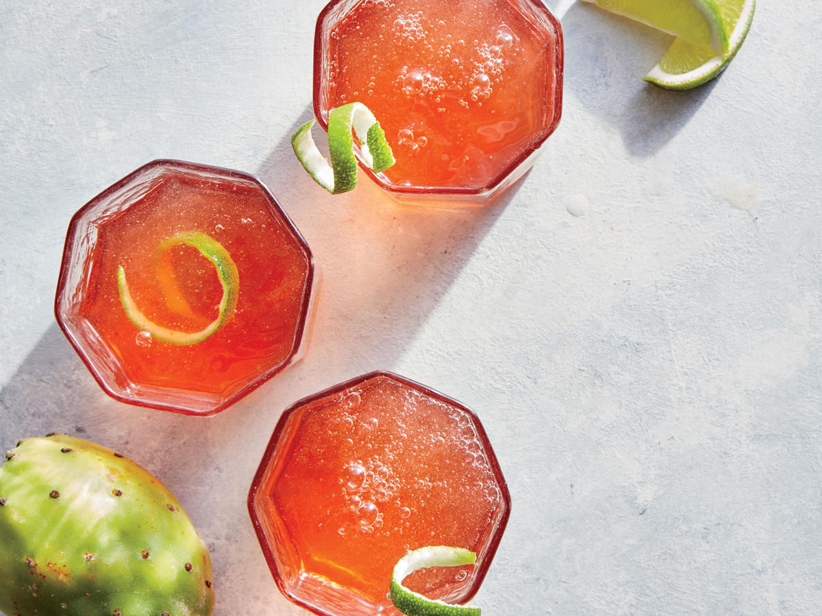 1707 Prickly Pear Punch - Sunday Strategist