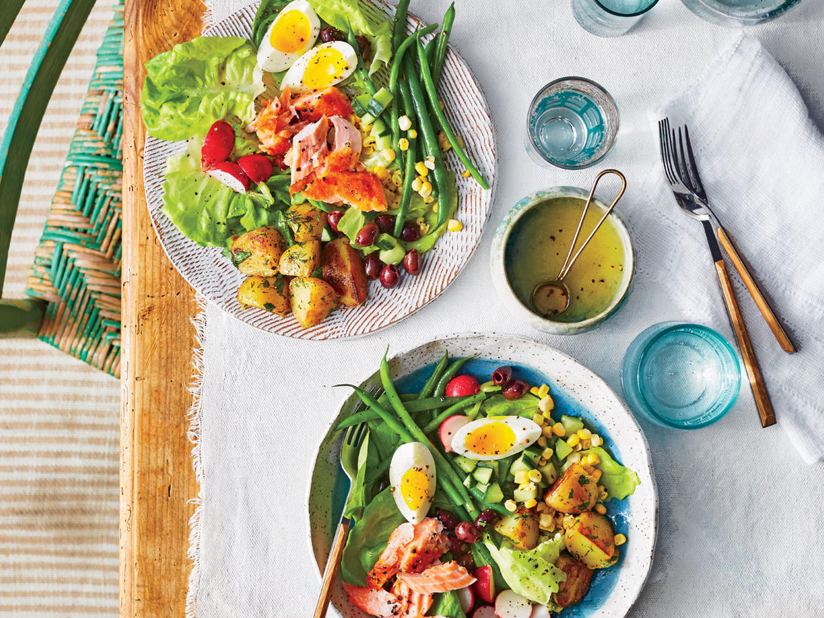 Summer Salmon Niçoise Salad
