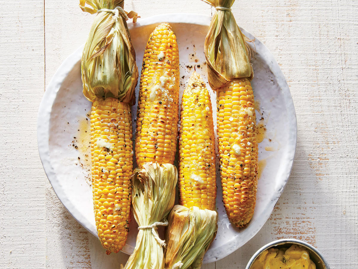 "Corn gets a bad rap because it's frequently found in packaged, processed food that can be void of nutrients. But real, straight-up corn is a healthy whole grain, points out Jessica Levinson, RD, a New York City-based nutritionist. ""It's a good source of fiber, vitamin C, and the antioxidants lutein and zeaxanthin, which promote healthy vision,"" she says. Grill corn on the cob, heat up popcorn, or top a salad with fresh kernels.