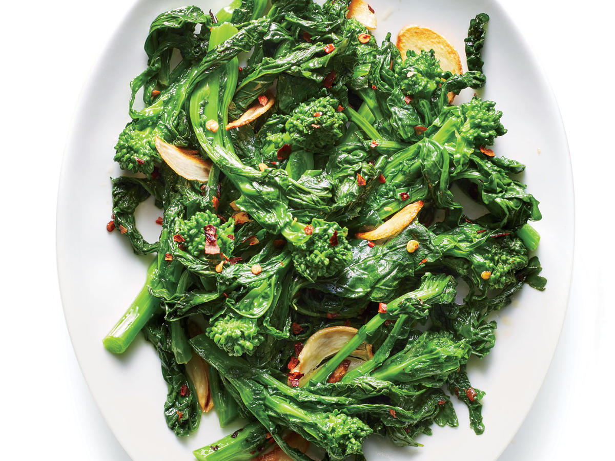 Broccoli Rabe with Anchovy Butter Recipe - Cooking Light