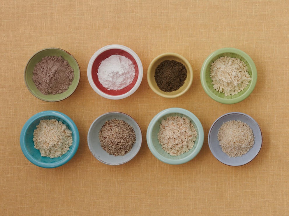 Gluten-Free Flour, Grains, and Starches