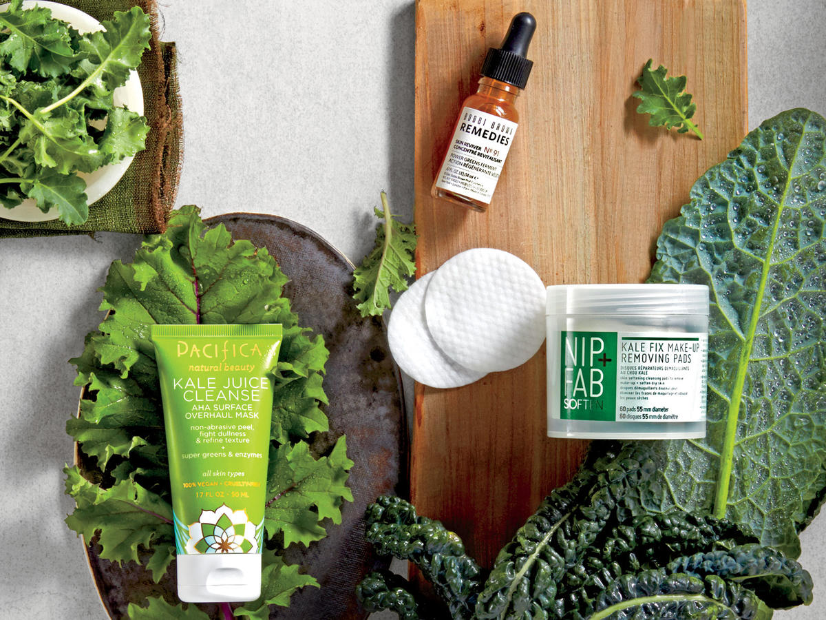 Nourish Your Skin with Kale Beauty Products