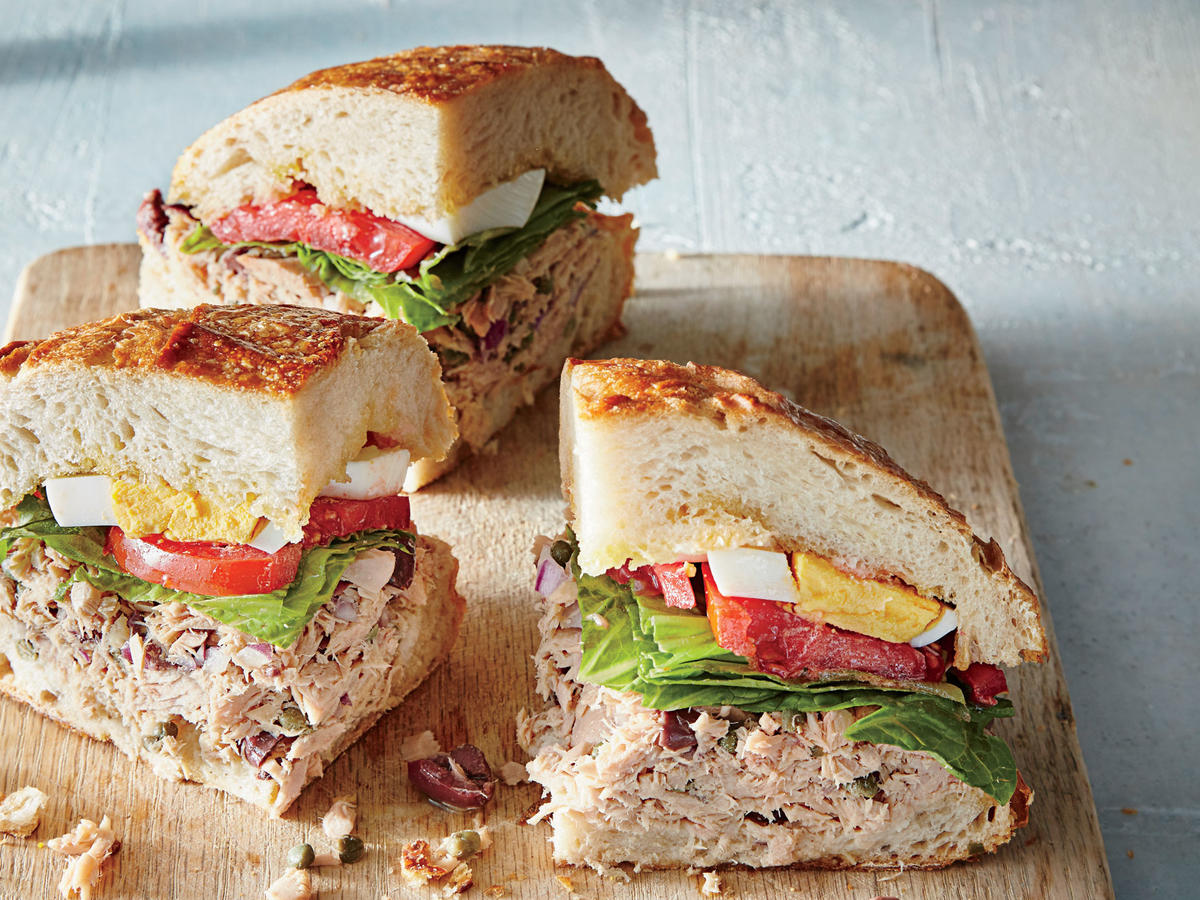 Tuesday: Pan Bagnat Tuna Sandwich