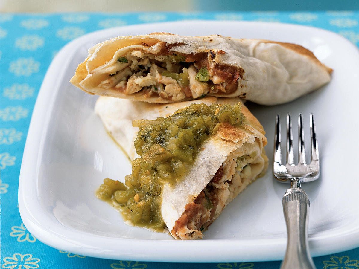 Roast Chicken Chimichangas Recipes