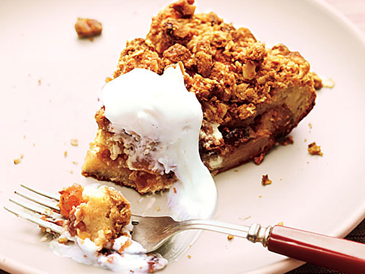 If you like bread pudding, you'll love this creamy, custard-rich treat. For a special finishing touch, dollop with whipped topping.